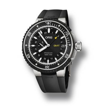 Oris ProDiver GMT 49mm Titanium Watch