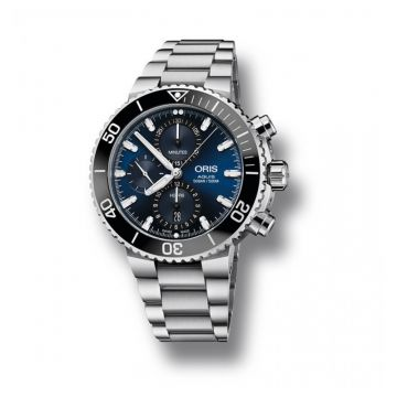 Oris Aquis Chronograph 45.5mm Stainless Steel
