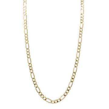 14 Karat Yellow Gold Figaro Link Chain