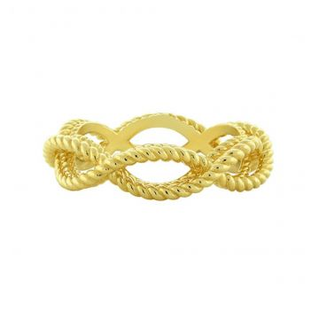 Roberto Coin New Barocco Diamond Braided Ring`