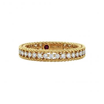 Roberto Coin Symphony Collection Diamond Braided Ring