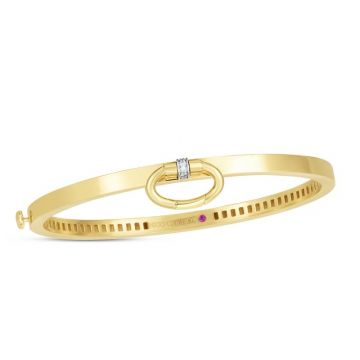 Roberto Coin Classica Parisienne Charm Bangle