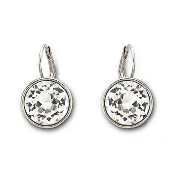 Bella Clear Crystal Pierced Earrings - 883551