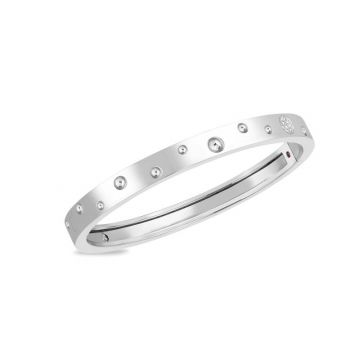 Roberto Coin Pois Moi Luna Thin Bangle
