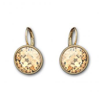 Bella Golden Shadow Pierced Earrings - 901640