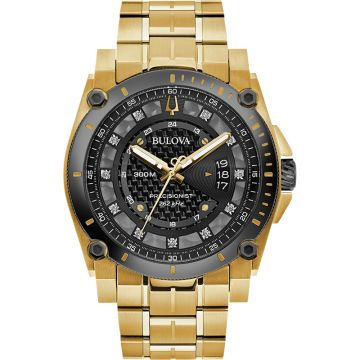 Bulova Champlain Quartz Stainless Steel 46mm Mens Watch