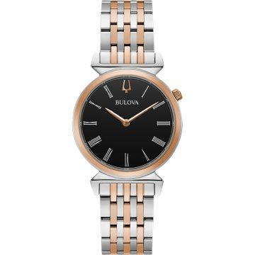 Bulova Regatta Quartz Stainless Steel 30mm Womens Watch