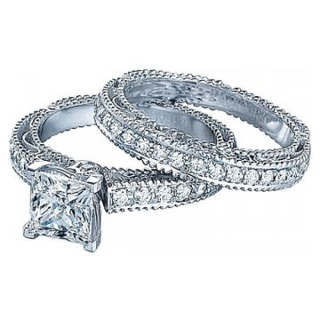 Verragio Venetian Collection Pave Diamond Engagement Ring AFN-5001P