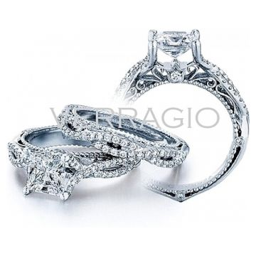 Verragio Twist Shank Diamond Engagement Ring - AFN-5003