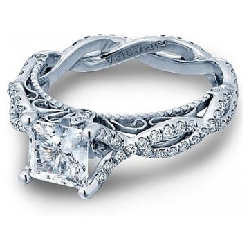Verragio Twist Shank Diamond Engagement Ring - AFN-5031