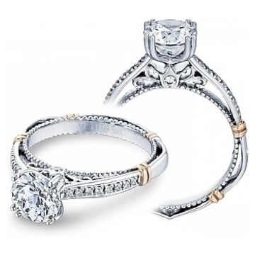 Verragio Pave Diamond Engagement Ring D-101S