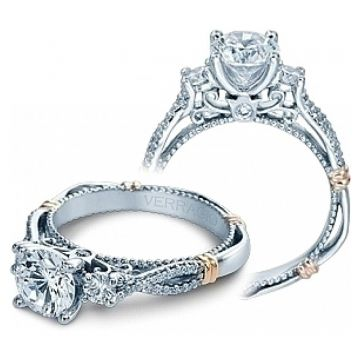 Verragio Twist Engagement Ring D-129R