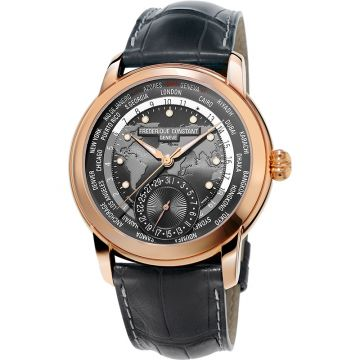 Frederique Constant Manufacture Automatic Rose Stainless Steel 42mm Men's Watch