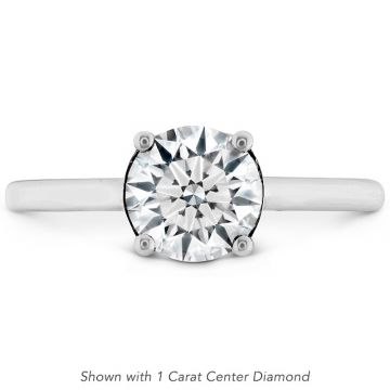 Hearts on Fire 18k White Gold Sloane Engagement Ring