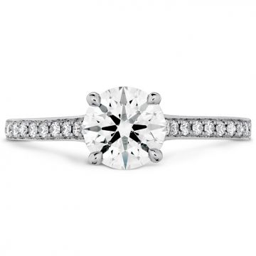 Hearts On Fire Illustrious Solitaire Engagement Ring