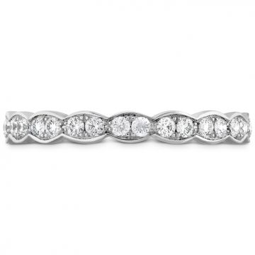 Hearts on Fire 0.45 ctw. Lorelei Floral Eternity Band in 18K White Gold