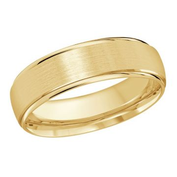 Satin Finish Wedding Band