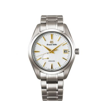 Grand Seiko Heritage Titanium White 41mm Men's Watch