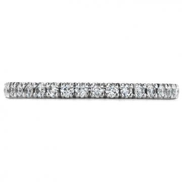 Hearts on Fire 0.25 ctw. Transcend Wedding Band in Platinum