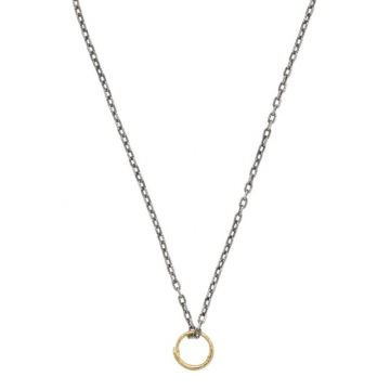 Gucci 18k Gold Two-Tone Necklace