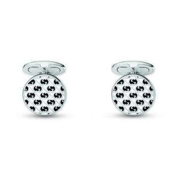 Gucci Sterling Silver Cufflinks